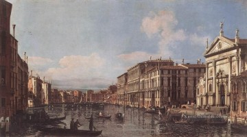 venedig Ölbilder verkaufen - View Of The Grand Canal At San Stae Bernardo Bellotto Klassische Venedig